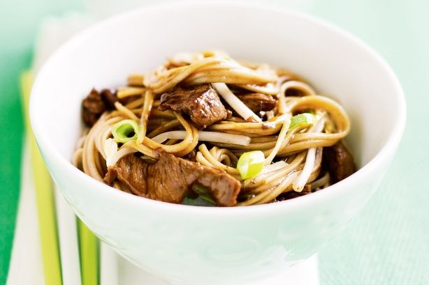 Teriyaki Beef With Soba Noodles Recipe
