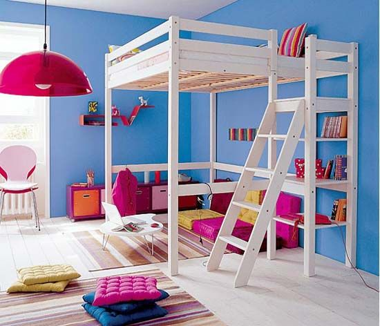 Modern, Cool and Space Saving Kids Bunk Bed