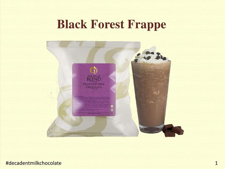 The Frappe Powder Wholesalers brought exclusive recipes PDF for making delightful drinkable deserts in simple steps. Also you can follow instructions wrote in recipe book as well as by watching videos and prepare tasty Decadent Milk Chocolate easily and quickly.