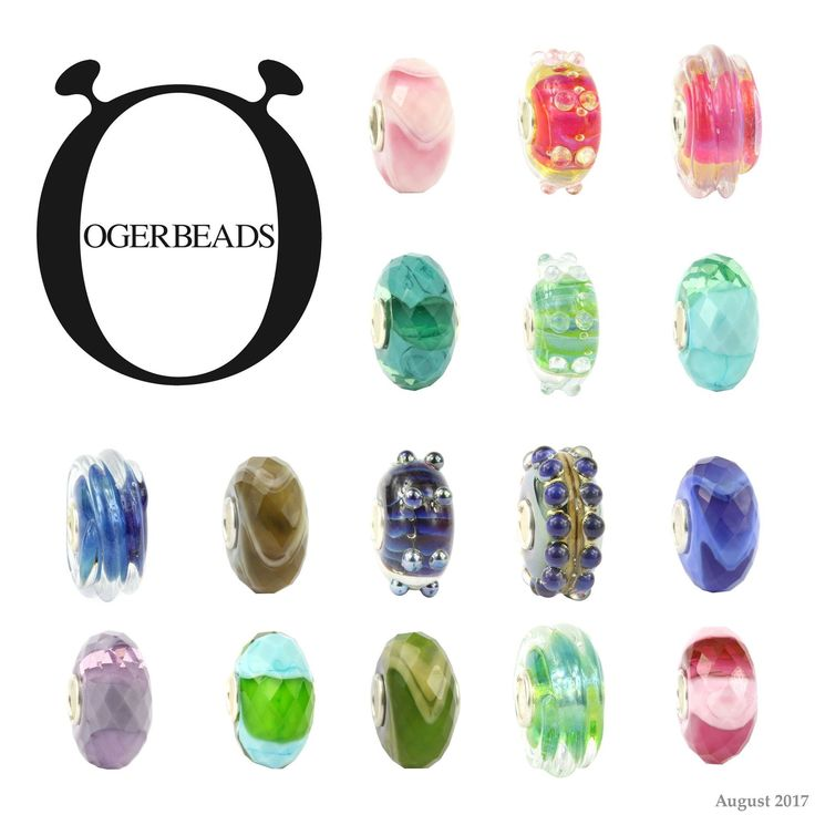 NEW COLLECTION!  Now available at www.ogerbeads.com