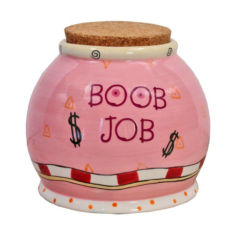 Boob Job Money Jar 106