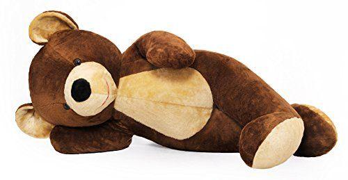 Riesen Teddybär Plüschtier Stofftier braun 155cm groß