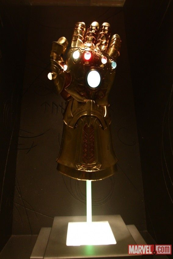 Las gemas del infinito en las películas de Marvel. http://www.adverglitch.com