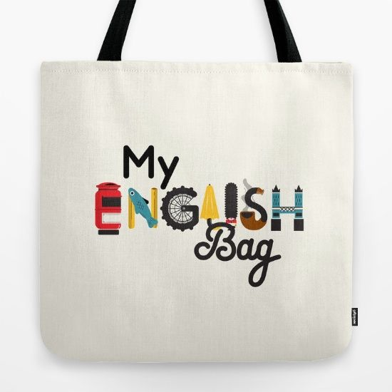 My english bag Tote Bag