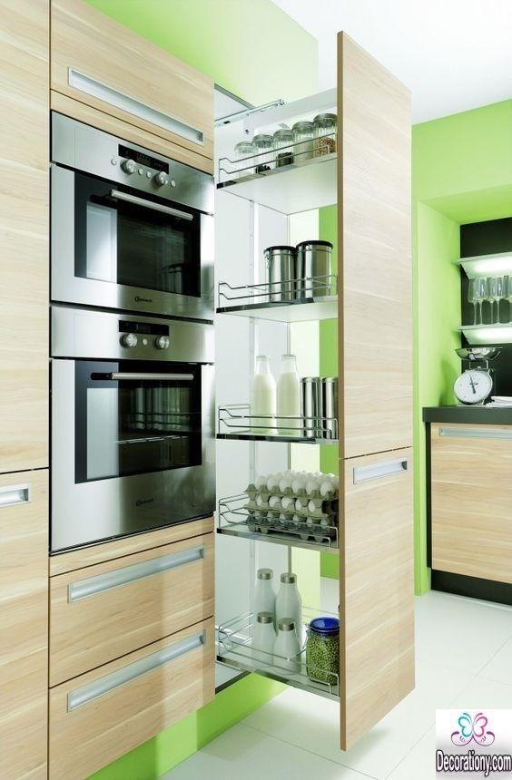 Die besten 25+ Contemporary pantry cabinets Ideen auf Pinterest - moderne einbaukuche tipps funktionelle gestaltung