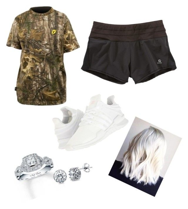 """""""Runnin' errands"""" by madisonbrown904 on Polyvore featuring Title Nine, adidas Originals, Realtree, Neil Lane and BERRICLE"""