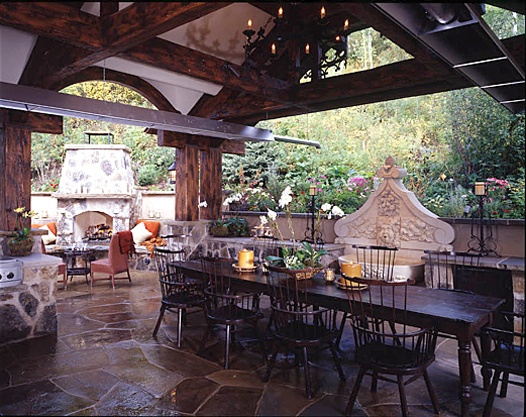 17 Best Images About Outdoor Covered Kitchens On Pinterest