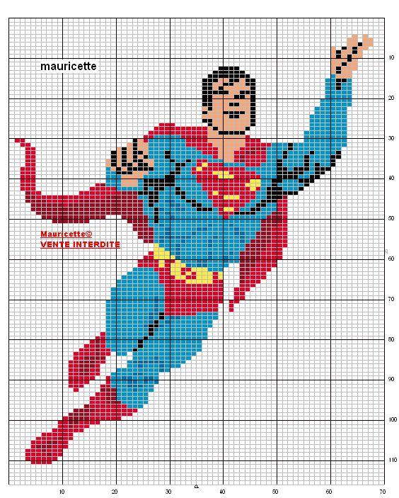 133 Best Images About Super Hero Perler Designs On Pinterest