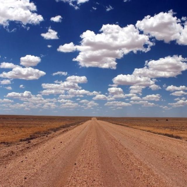 Outback Australia. A whole lot of nothing but oh so beautiful. Do not do this drive alone. You can die out here.