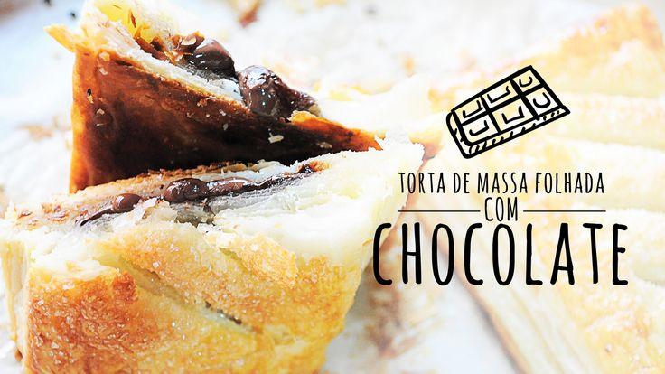 TORTA DE CHOCOLATE COM MASSA FOLHADA | COZINHA INDEPENDENTE 001