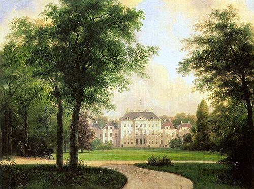 Paleis Het Loo by Andreas Schelfhout 1838