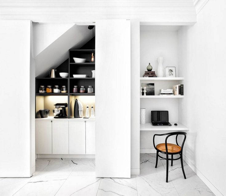 carving out space in a small space