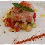 Panzanella con gamberi #Moscato rosa http://www.michelapi.com/wp/?p=1486