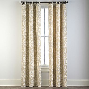 Cindy Crawford Style Palais Grommet Top Drapery Panel Jcpenney Window Treatments Pinterest