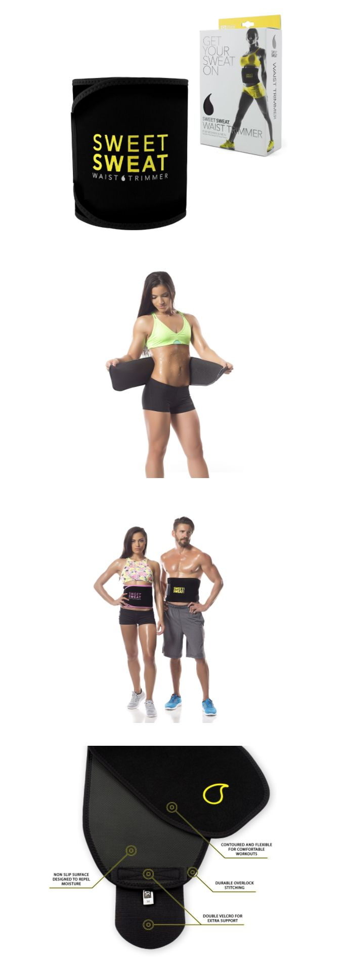 Toning Belts 57273: Sweat Band Wrap Waist Trimmer Belt Tummy Ab Weight Loss Fat Burner Slimming Burn -> BUY IT NOW ONLY: $31.5 on eBay!