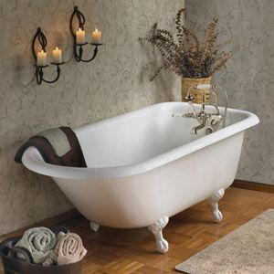 Truly The Thing I Miss Most About Home.our Huge Old Fashioned Clawfoot Tub.so  Realxing!