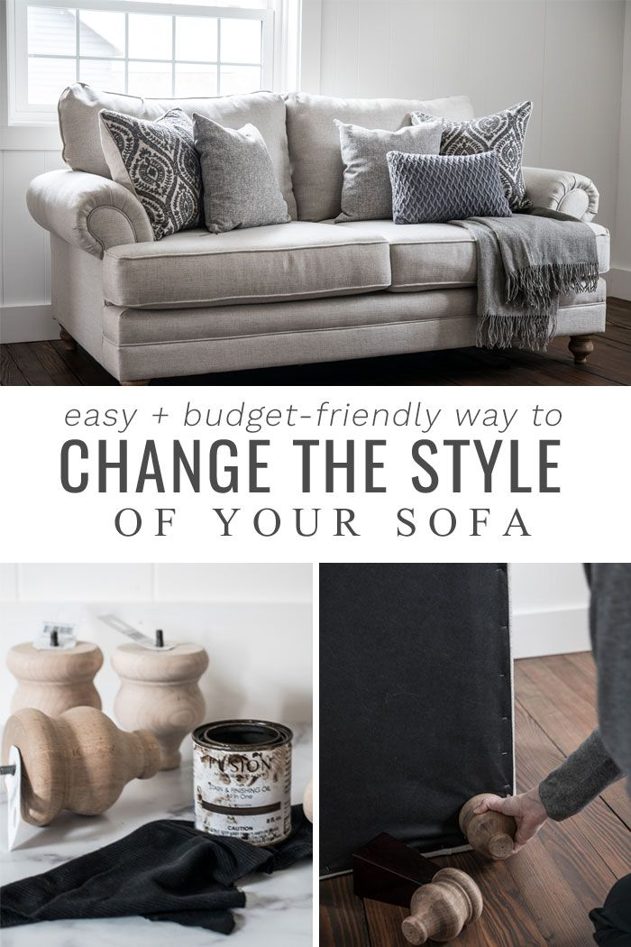 Living Room Sofa, Can You Change The Legs On Your Sofa