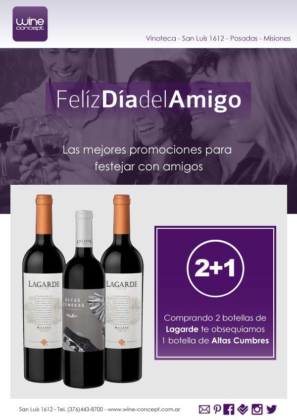 #DiadelAmigo #Promo Lagarde 2+1