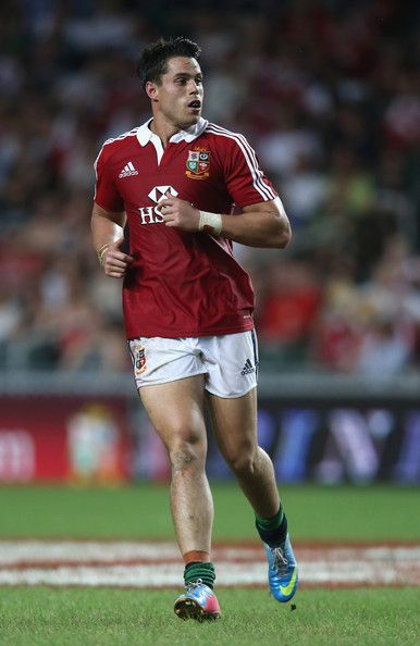 Sean Maitland of the Lions looks on during the match between the British & Irish Lions and the Barbarians at Hong Kong Stadium on June 1, 2013,  Hong Kong.
