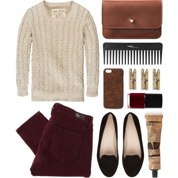 A fashion look from July 2013 featuring Jack Wills sweaters, Paige Denim pants and A.P.C. wallets. Browse and shop related looks.