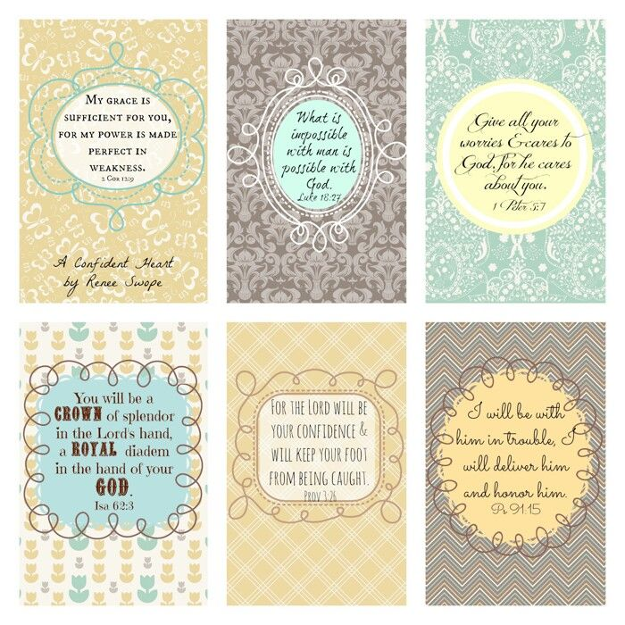 35 Best Printable Images On Pinterest: 17 Best Images About Bible Verses On Pinterest