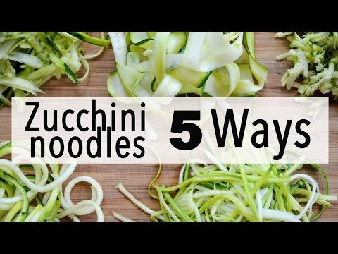 5 Different Ways to Make Your Own Gluten-Free Zucchini Pasta | The Vision Times