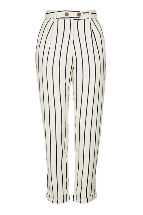 Striped Mensy Peg Trousers