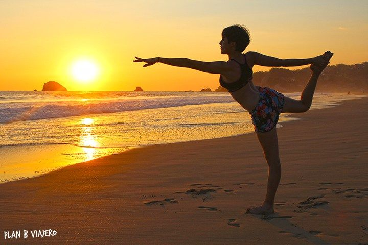plan b viajero, las mejores playas de Oaxaca, atardecer zipolite