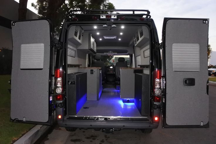 El Kapitan Dodge Promaster Van Conversion Wilth Aluminess