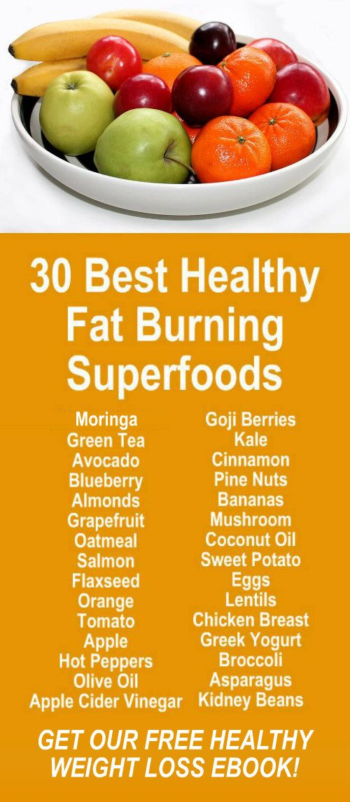 30 Super Healthy Fat Burning Weight Loss Superfoods. Get our FREE weight loss eBook with suggested fitness plan, food diary, and exercise tracker. Learn about Zija's potent Moringa based weight loss products that help your body increase energy, burn fat,