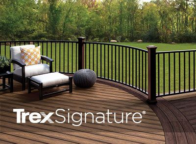 Estimate the cost of your new deck and Trex Signature railing using Trex's deck cost calculator.