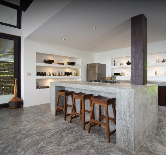 thai style kitchen design 22 best concrete benchtops images on home 6038