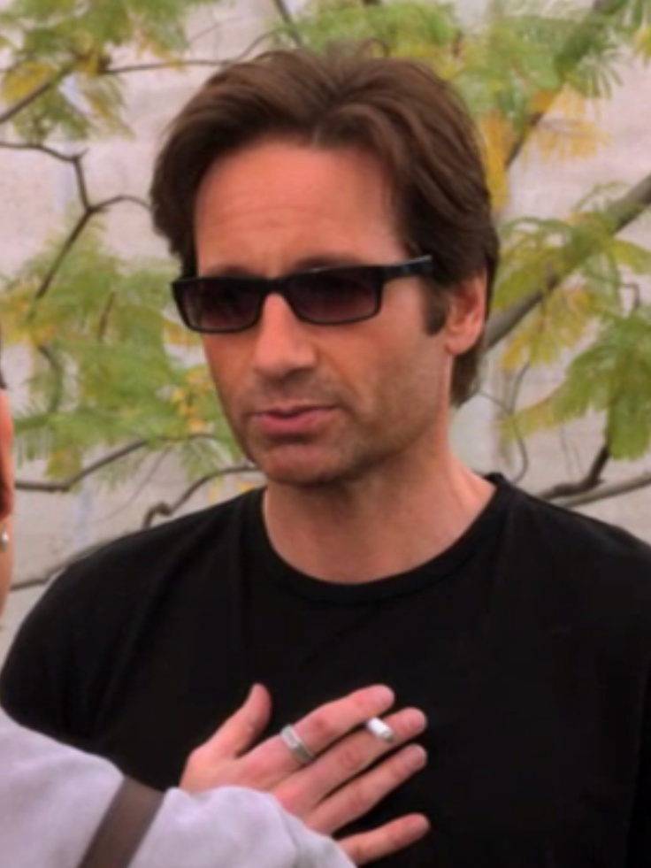 Hank Moody. So in love with this guy right now!