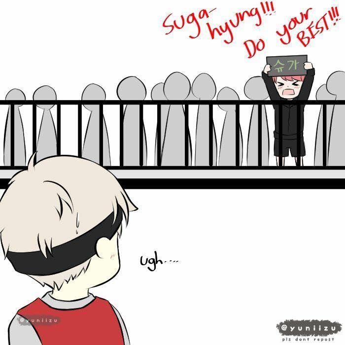 MIN YOONGI!!!!!!! I laughed so hard at that part