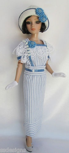 OOAK Lady Ambers Day in 1920s May for 16 Ellowyne etc Made by Ssdesigns | eBay