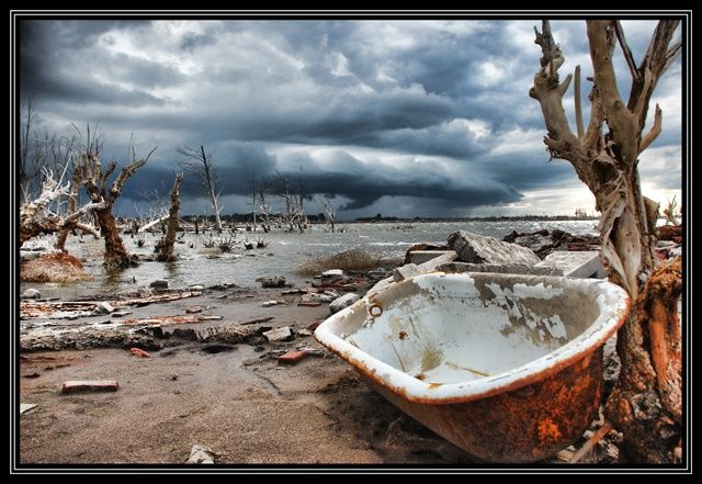 EPECUEN, Argentina | Tema: Villa Epecuen, Argentina: El lago que se trago al pueblo
