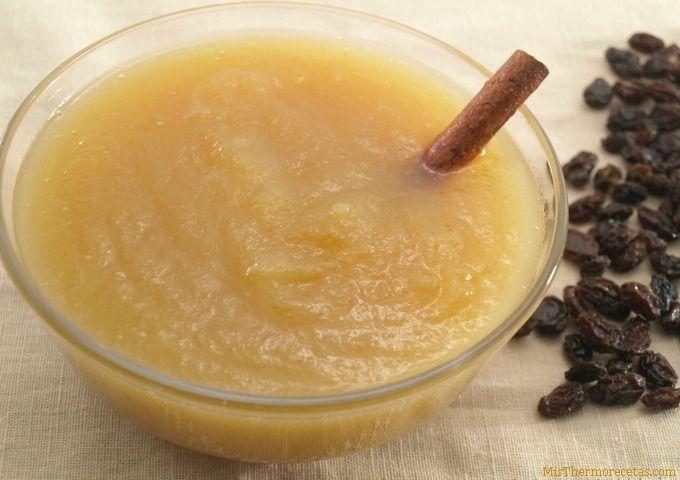 Compota de manzana - MisThermorecetas.com