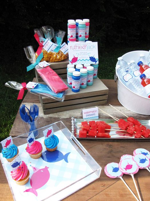 Pool Party Snack Ideas luau lake party love the idea to serve the goodies out of buckets shovels pool party snackspool Fish Pool Party Idea Party Ideas Party Favors Parties Kids Parties Kids Birthday Party Decorations Party