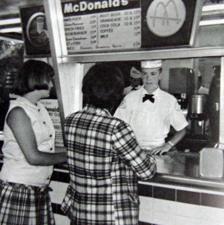 McDonald's interior c. 1966