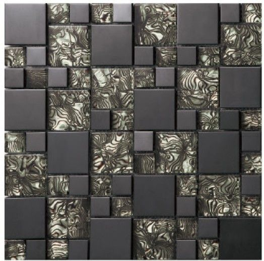 Cheap mosaic tile china, Buy Quality mirror tiles for the wall directly from China mirror glass mosaic tile Suppliers: crystal glass black mirror metal mosaics stainless steel tile bathroom kitchen TV background wall mosaic tiles ho