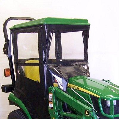 Hard Top Tractor Cab Enclosure for John Deere 1023E, 1025R & 1026R