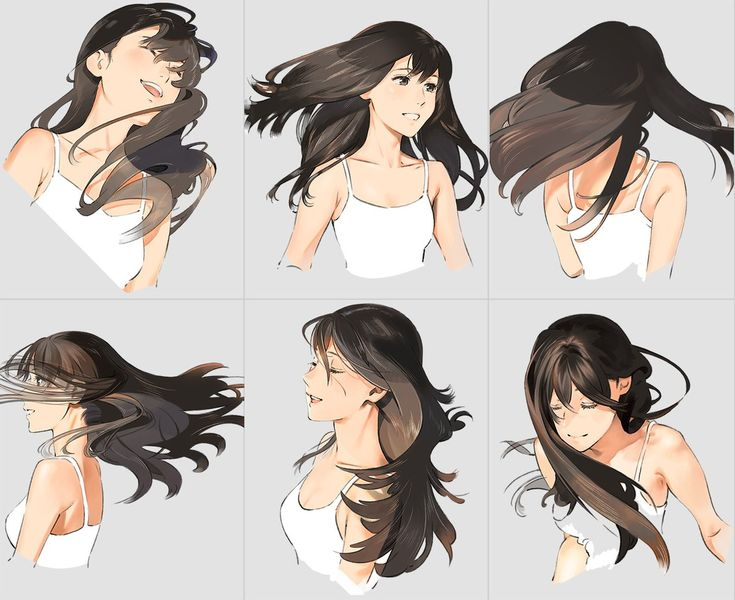 how to draw hair up