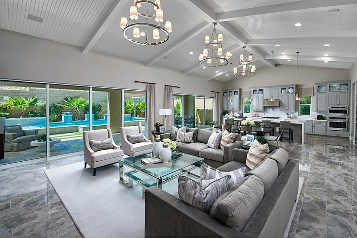 Open Inviting Great Room And Kitchen Rocco Model Home