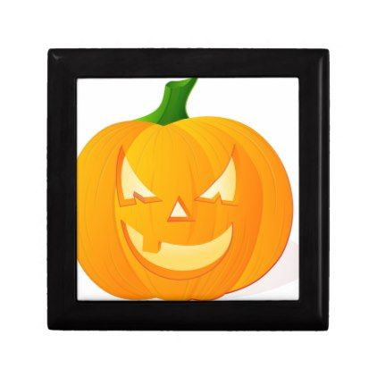 Scary Pumpkin Gift Box - Halloween happyhalloween festival party holiday