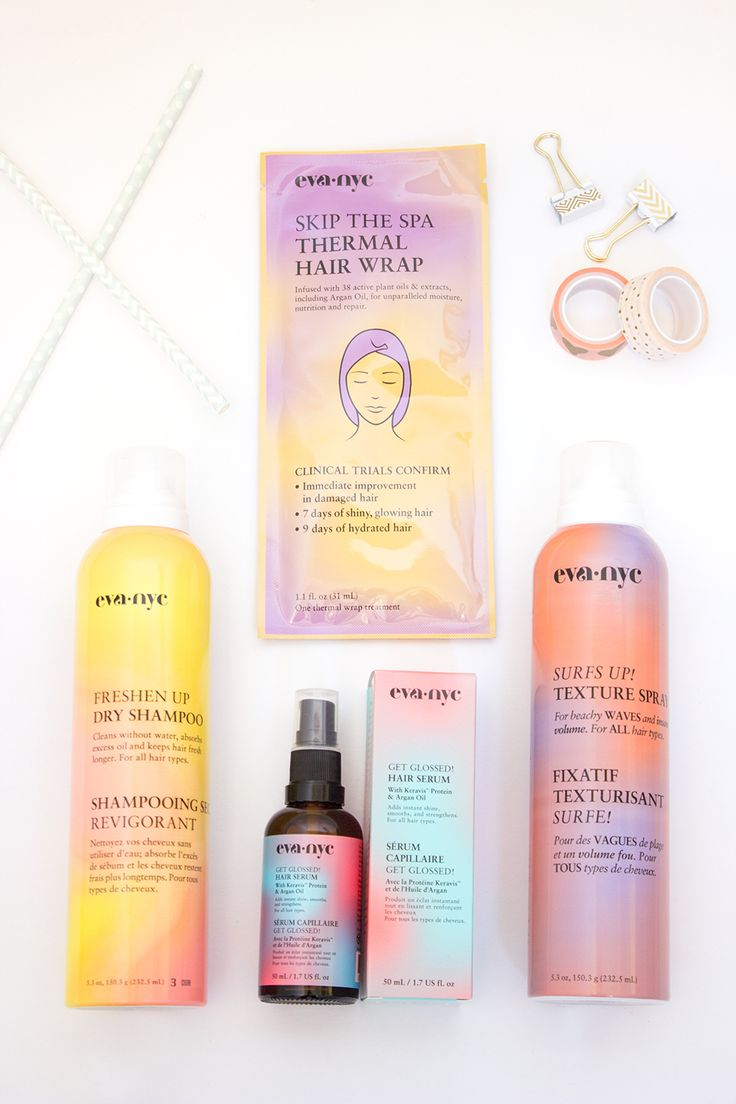 I'm a seriously lazy girl when it comes to styling my hair. With my life being so hectic I rarely have the time to fuss around with hot tools. Fortunately these products from Eva NYC will make your hair look fabulous with minimal effort!