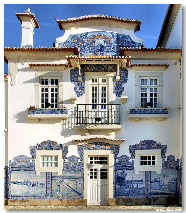 Aveiro train station, Portugal