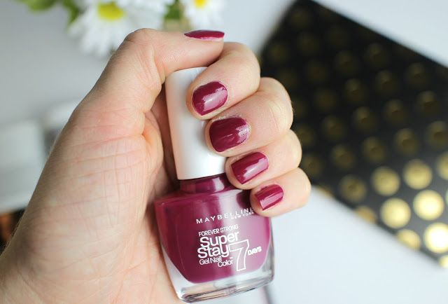 Maybelline Super Stay Divine Wine Nails