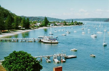 The Pittwater at Palm Beach, Australia