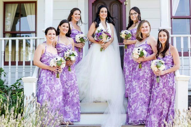 A Vera Wang Bride for a Jewish travel-themed barn wedding at Olympia's Valley Estate, Petaluma, California, USA