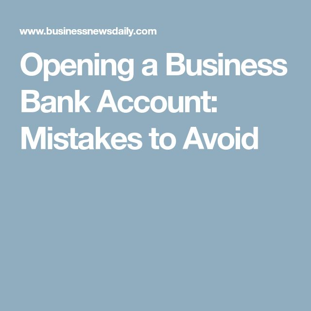 Best  Business Bank Account Ideas On   Financial